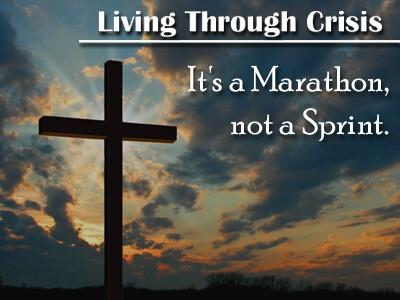 It's a Marathon, not a Sprint!